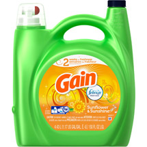 Gain Sunflower & Sunshine with Febreze Freshness Liquid Laundry Detergent