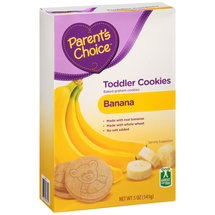 Parent's Choice Banana Toddler Cookies