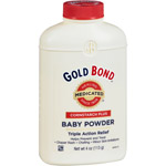Gold Bond Cornstarch Plus Medicated Triple Action Relief Baby Powder