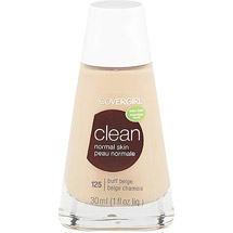 CoverGirl Clean Liquid Make Up Foundation BUFF BEIGE 125