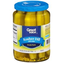 Great Value Kosher Dill Spears