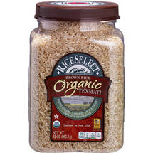 RiceSele ct Organic Texmati Brown Rice