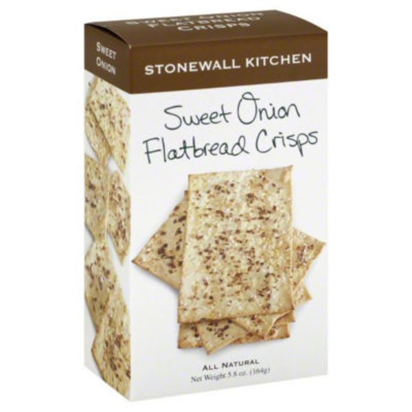 Stonewall Kitchen Sweet Onion Flatbread Crisps