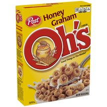 Post Honey Graham Oh's Cereal
