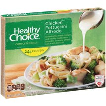Healthy Choice Chicken Fettuccini Alfredo