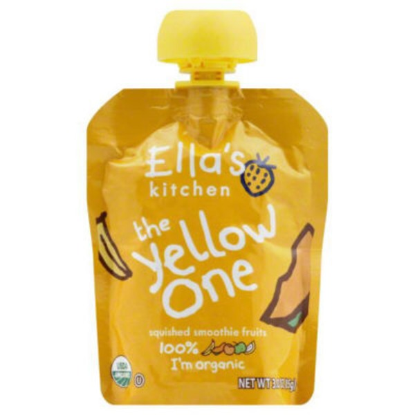 Ella's Kitchen Organic The Yellow One Smoothie Fruits
