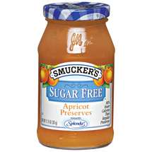 Smucker's Apricot Sugar Free Preserves