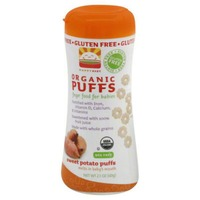 Happy Baby/Family Organic Sweet Potato & Carrot Superfood Puffs