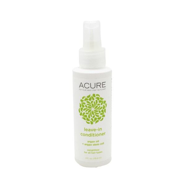 Acure Conditioner, Leave-In, Weightless