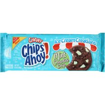 Nabisco Chewy Chips Ahoy! Ice Cream Creations Mint Chocolate Chip Cookies