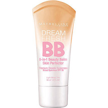 Maybelline Dream Fresh BB Cream Sheer Tint 8-In-1 Skin Perfector Light/Medium Light