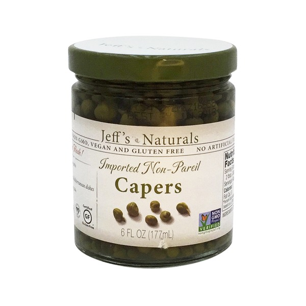 Jeff's Naturals Capers, Imported Non-Pareil