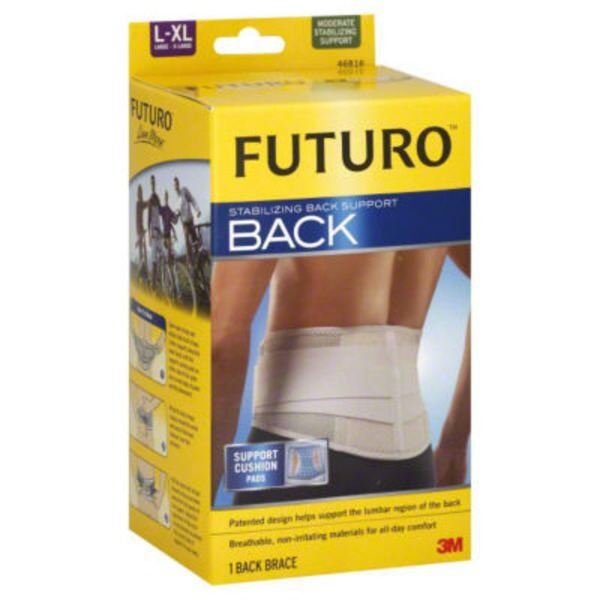 Futuro Stabilizing Back Support, Moderate, L-XL