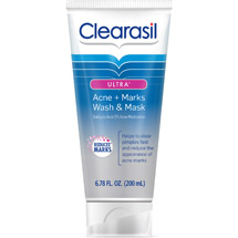 Clearasil Ultra Acne+Marks Wash & Mask