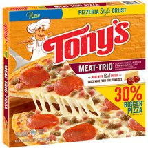 Tony's Pizzeria Style Crust Meat Trio Pizza