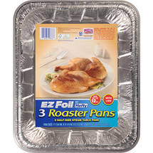 Hefty EZ Foil Roaster Pans With Covers