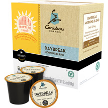 Keurig Caribou Daybreak Morning Blend 18 K-Cups Coffee