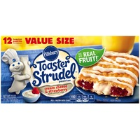 Pillsbury Toaster Strudel Cream Cheese & Strawberry Toaster Pastries