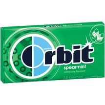 Orbit Spearmint Sugar Free Chewing Gum