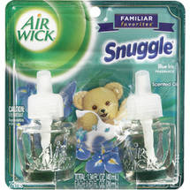 Air Wick Scented Oil - Twin Refill Snuggle Blue Iris