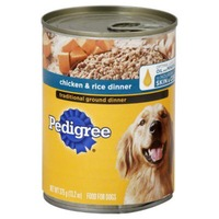Pedigree Traditional Ground Dinner Chicken & Rice (PS #1211633) Wet Dog Food
