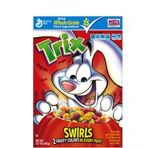 Trix Fruity Sweetened Corn Puffs