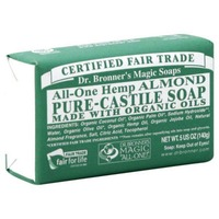 Dr. Bronner's All-One Hemp Almond Pure-Castile Soap