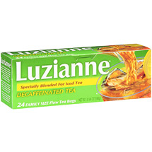 Luzianne Iced Specially Blended Decaffeinated Tea