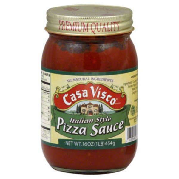 Casa Visco Italian Style Pizza Sauce