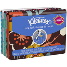 Kleenex Slim Pack Everyday Facial Tissues