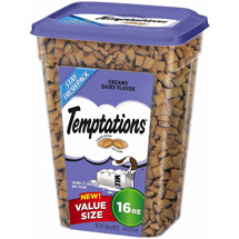 Whiskas Temptations Value Size Creamy Dairy