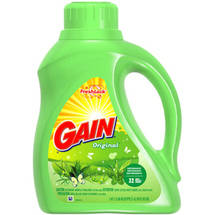 Gain 2x Ultra Liquid Laundry Detergent Original Fresh Scent