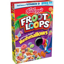 Froot Loops Marshmallow Sweetened Multi-Grain Cereal