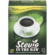Stevia Extract In The Raw Zero Calorie Sweetener