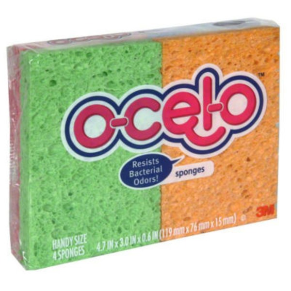 Ocelo Sponges Handy Size - 4 CT