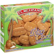 El Mexicano Rico Coco Coconut Flavored Cookies