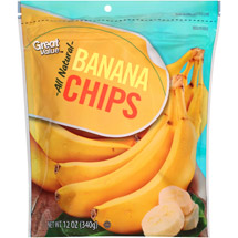 Great Value All Natural Banana Chips