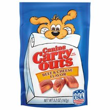 Canine Carry Outs Beef and Cheese Flavor Dog Snacks
