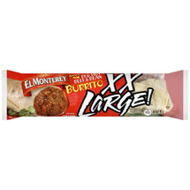 El Monterey Spicy Red Hot Beef & Bean XX Large! Burrito