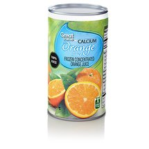 Great Value 100% Orange Juice with Calcium