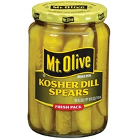 Mt. Olive Kosher Dill Spears Fresh Pack Pickles