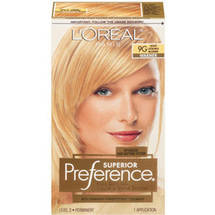 L'Oreal Paris Superior Preference Haircolor Light Golden Blonde 9G