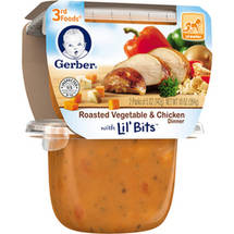 Gerber 3rd Foods Roasted Vegetable & Chicken Dinner