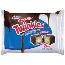 Hostess Chocodile Twinkies Fun Size Snack Cakes
