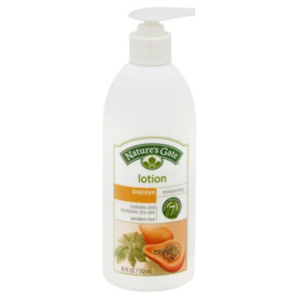 Nature's Gate Lotion Papaya Lotion