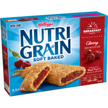 Kellogg's Nutri Grain Cherry Cereal Bars 8 Ct/10.4 Oz