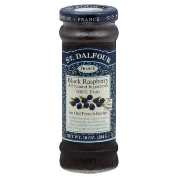 St. Dalfour Deluxe Black Raspberry Fruit Spread