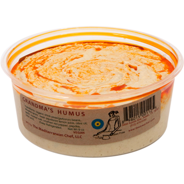 The Mediterranean Chef Grandma's Hummus