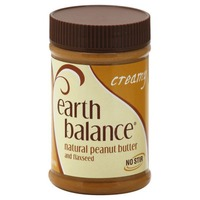 Earth Balance Creamy Natural Peanut Butter & Flaxseed
