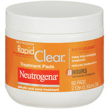 Neutrogena Rapid Clear Maximum Strength Treatment Pads